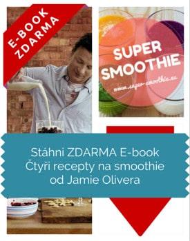 Stáhni ZDARMA E-book Čtyři recepty na smoothie od Jamie Olivera