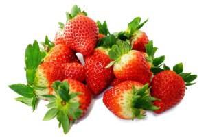jahody na smoothie
