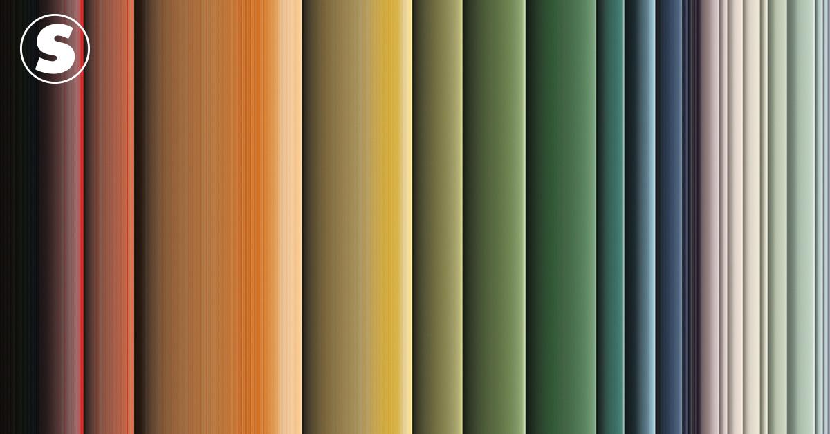 Analisamos a paleta de cores de 45 obras clássicas das artes plásticas