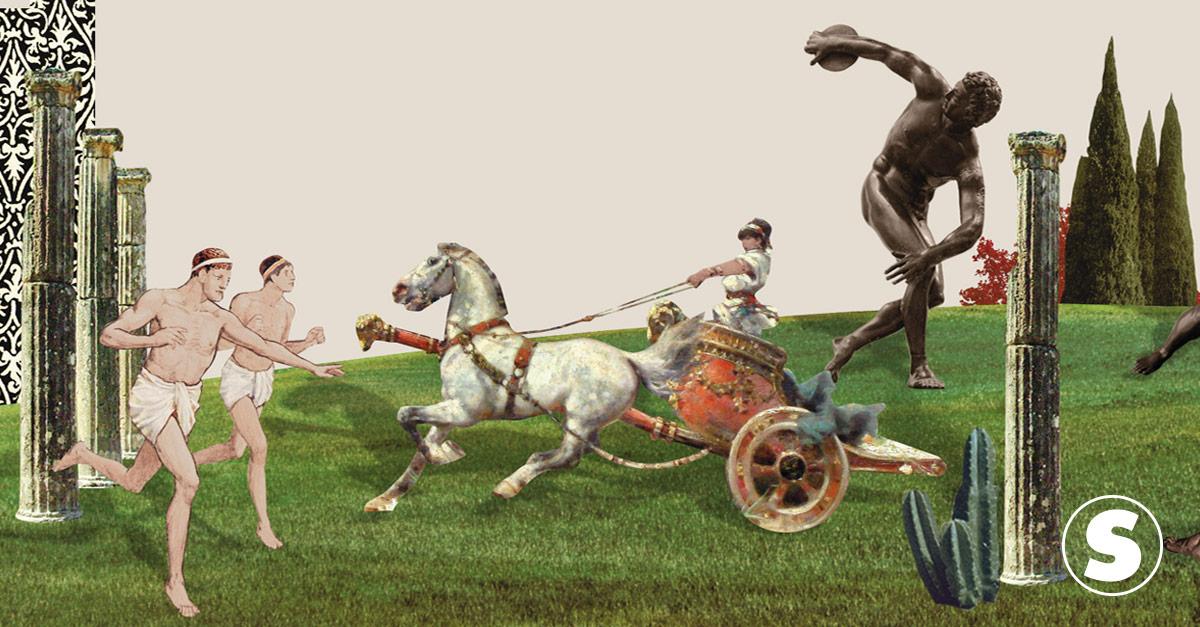 Competição dos deuses: a origem dos Jogos Olímpicos
