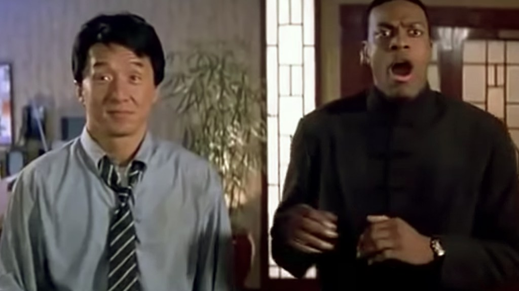 Inspector Lee and Detective Carter - Rush Hour