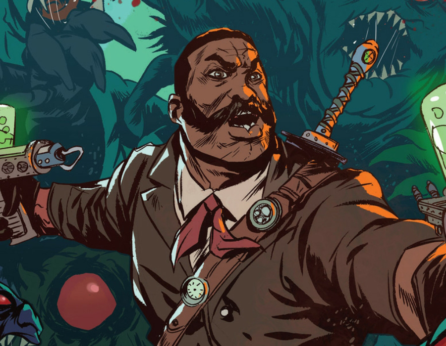 The Super. Black. 2019 Best New Comic Series