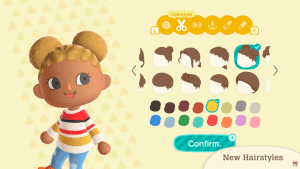 Animal Crossing: New Horizons finally adds hair for Black people: The Buns