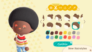Animal Crossing: New Horizons finally adds hair for Black people: The Fro