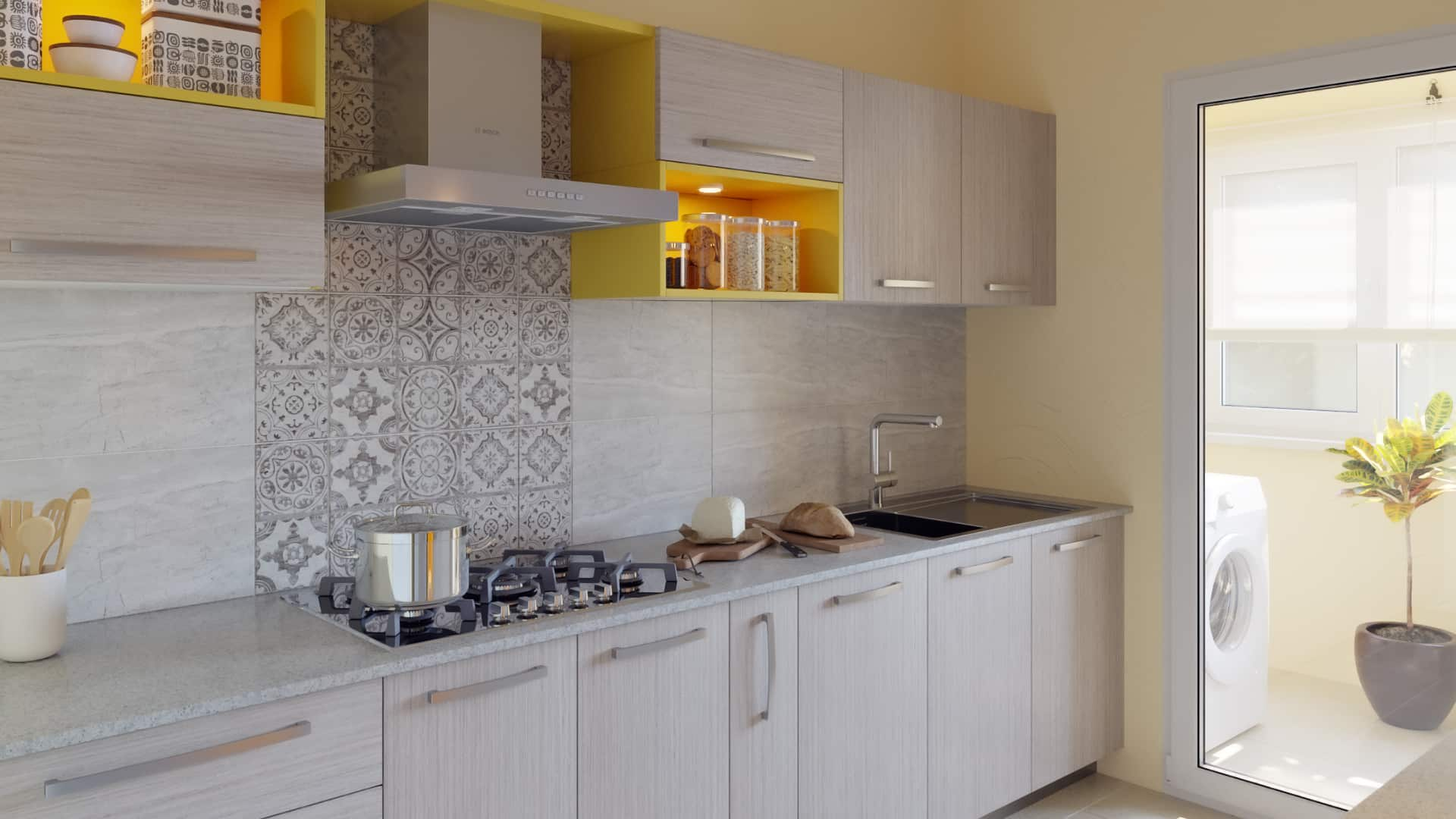 Parallel Modular Kitchen Designs India