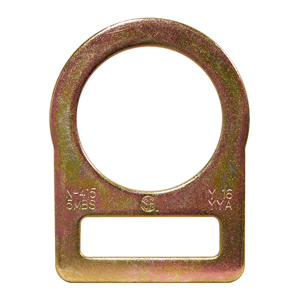 Large D-Ring Stamped