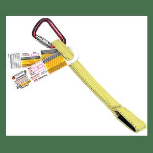 Web Lanyard 18inch Carabiner Loop End