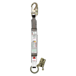 MAX Force Energy Absorber – Snaphook & ADP Grab Zinc