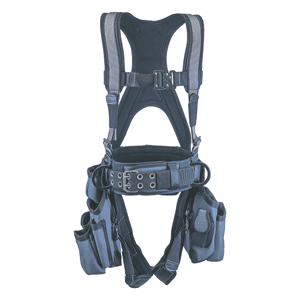 Deluxe Harness With Tool Bags – Silver