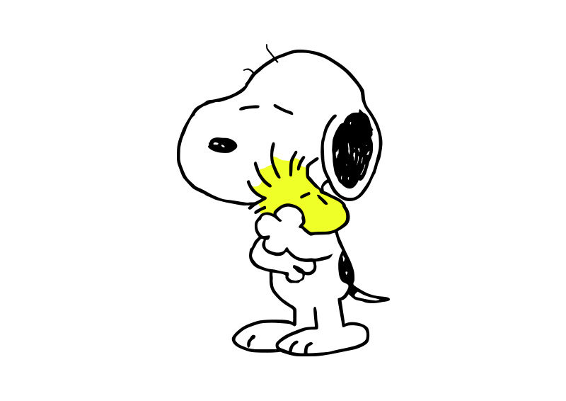 Snoopy And Woodstock Free Vector SuperAwesomeVectors