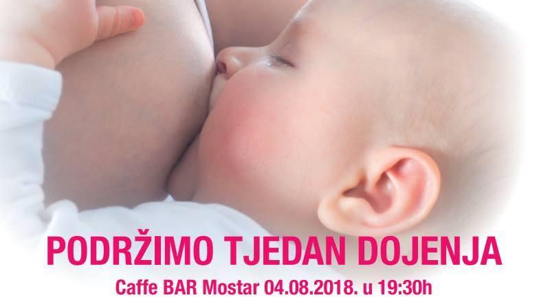 Obeležavanje Svetske nedelje dojenja 2018. u Mostaru