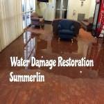 Water Damage Restoration Summerlin