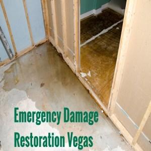 Emergency damage restoration Vegas