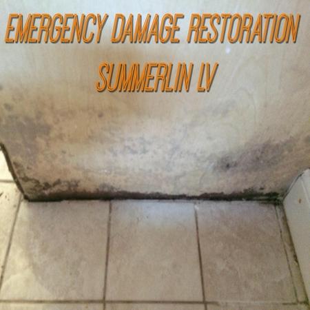 Emergency damage restoration summerlin LV