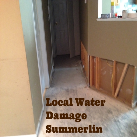 Local Water Damage Summerlin