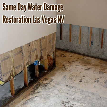 Same Day Water Damage Restoration Las Vegas NV