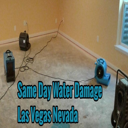 Same Day Water Damage Las Vegas Nevada
