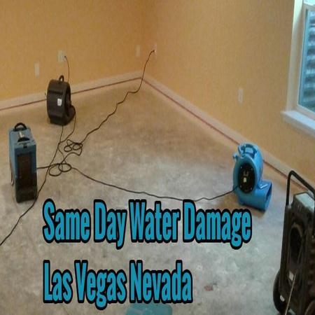 Same Day Water Damage Las Vegas Nevada
