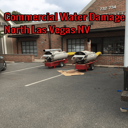 Commercial Water Damage North Las Vegas NV