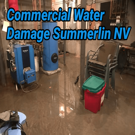 Commercial Water Damage Summerlin NV