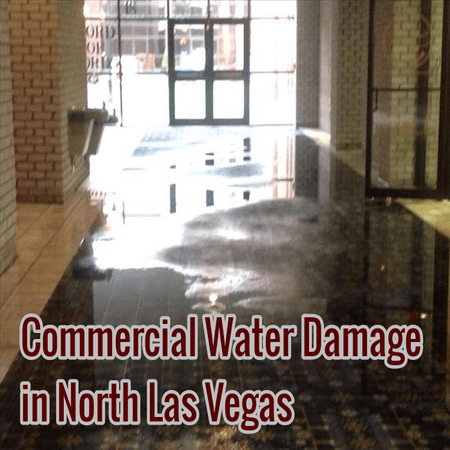Commercial Water Damage in North Las Vegas