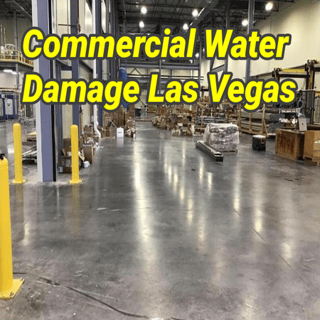 Commercial Water Damage Las Vegas
