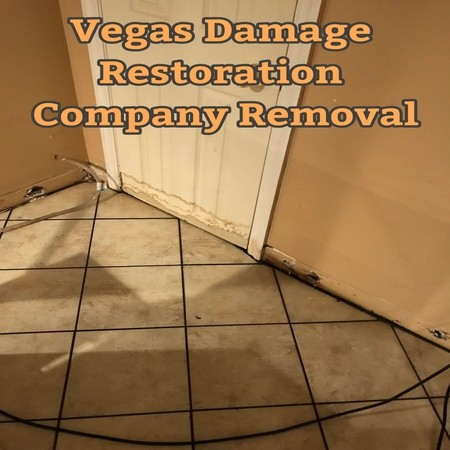 Vegas Damage Restoration Company Removal