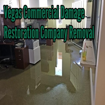 Vegas Commercial Damage Restoration Company Removal