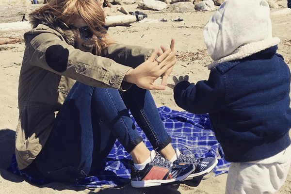 """Family First""! Luisana Lopilato shares adorable picture with son at Beach!"