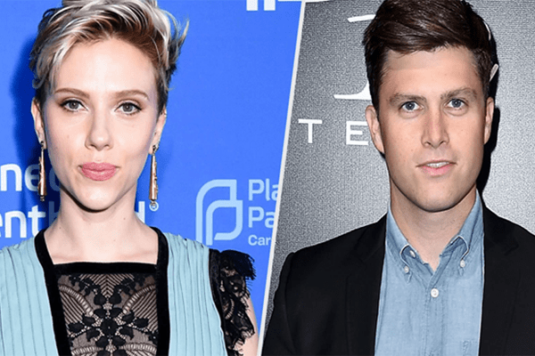 Scarlett Johansson and Colin Jost are in a dating affair