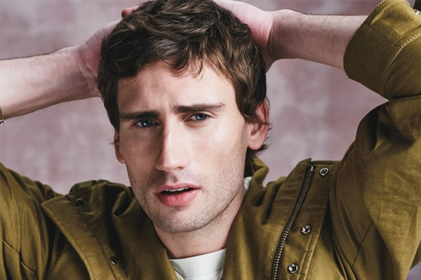 Edward Holcroft gay rumors come to a rise after his upcoming BBC film role! Does he have a secret girlfriend?