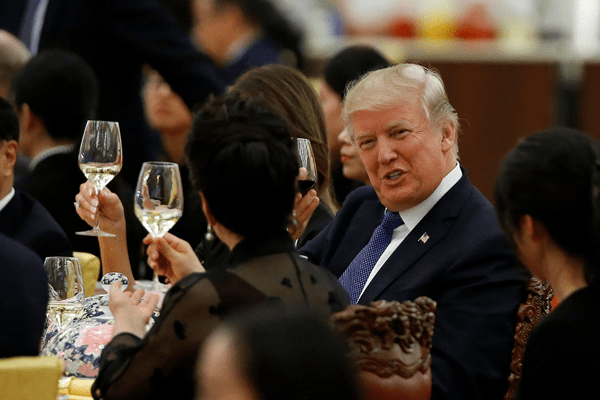 Is there no State Dinner Party in Trump's first year?