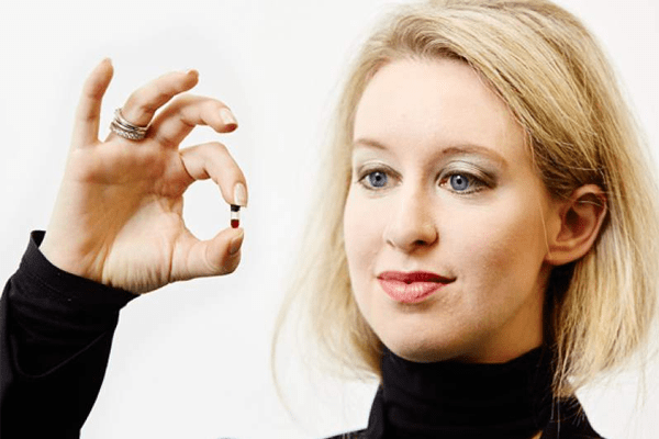 Elizabeth Holmes; Billionaire Businesswoman Founder of Theranos Inc.