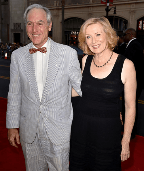 Frances Conroy with husband Jan Munroe