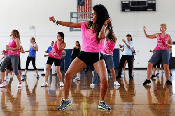 Zumba for dance for weight loss