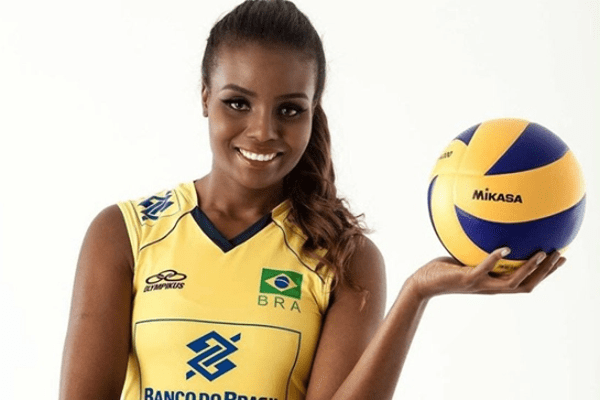 Brazilian Volleyball Player Fabiana Claudino's Net Worth and Salary plus Olympics Gold Medal