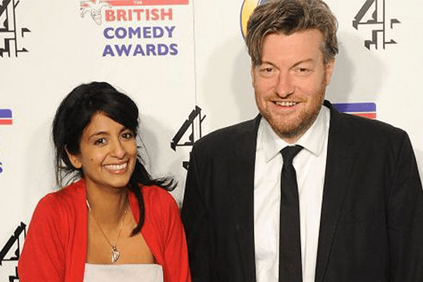 Photos of Charlie Brooker and Wife Konnie Huq's Secret Wedding in LA Ceremony