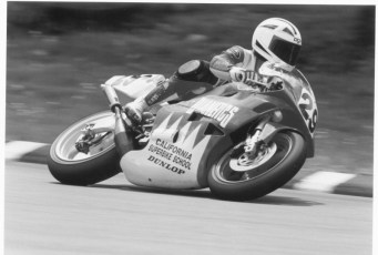 At 48 years old in 1992, Keith competed in the AMA Pro 250 GP class