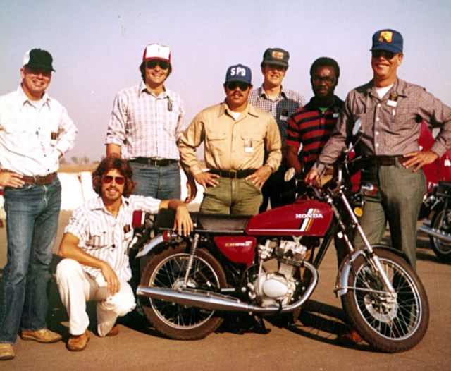 1977 Does the Motorcycle Safety Foundations Course
