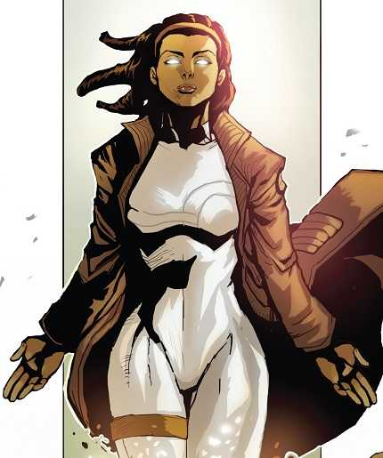 Captain Marvel: Monica Rambeau as Spectrum