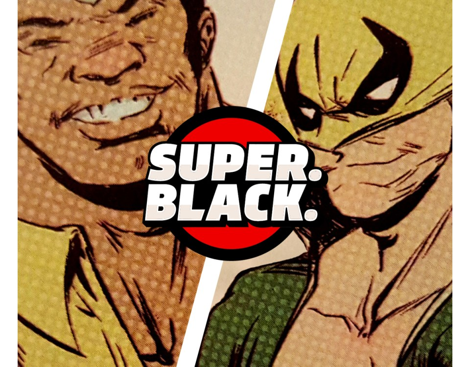 Freelance Super People! The Heroes For Hire - Super. Black.