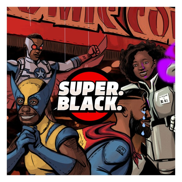 Super. Black. Goes to NY Comic Con!