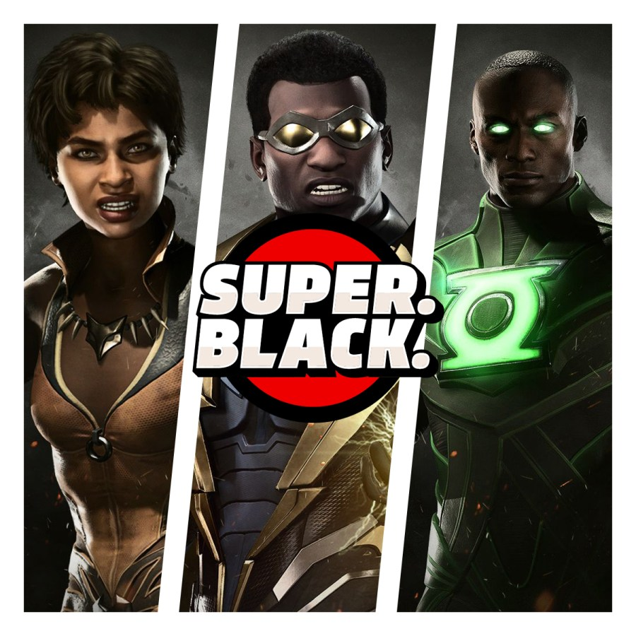 Injustice 2 - Super. Black.