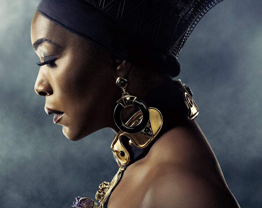 Angela Bassett as Queen Ramonda
