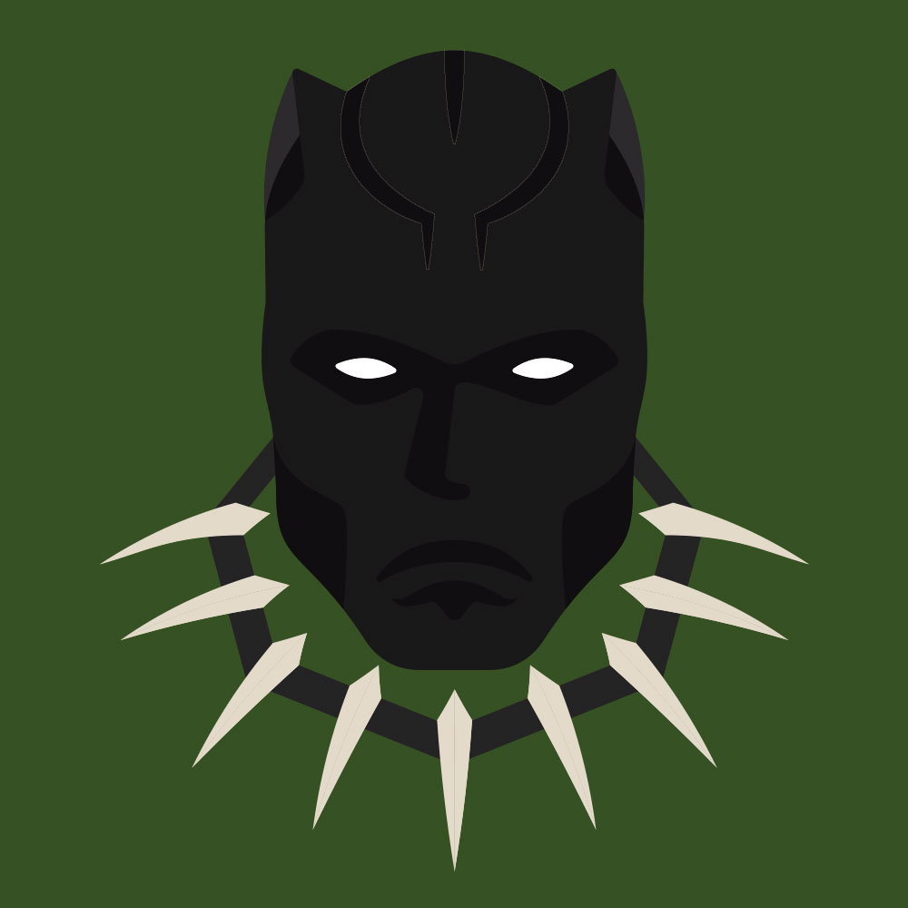 Black Panther - Super. Black