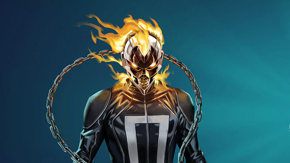 Robbie Reyes Ghost Rider - Via Marvel.com