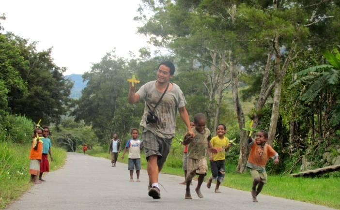 Zakharia ikut Tuhan bersama anak-anak di Papua