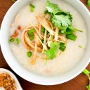 Smooth and Creamy Roast Chicken Porridge
