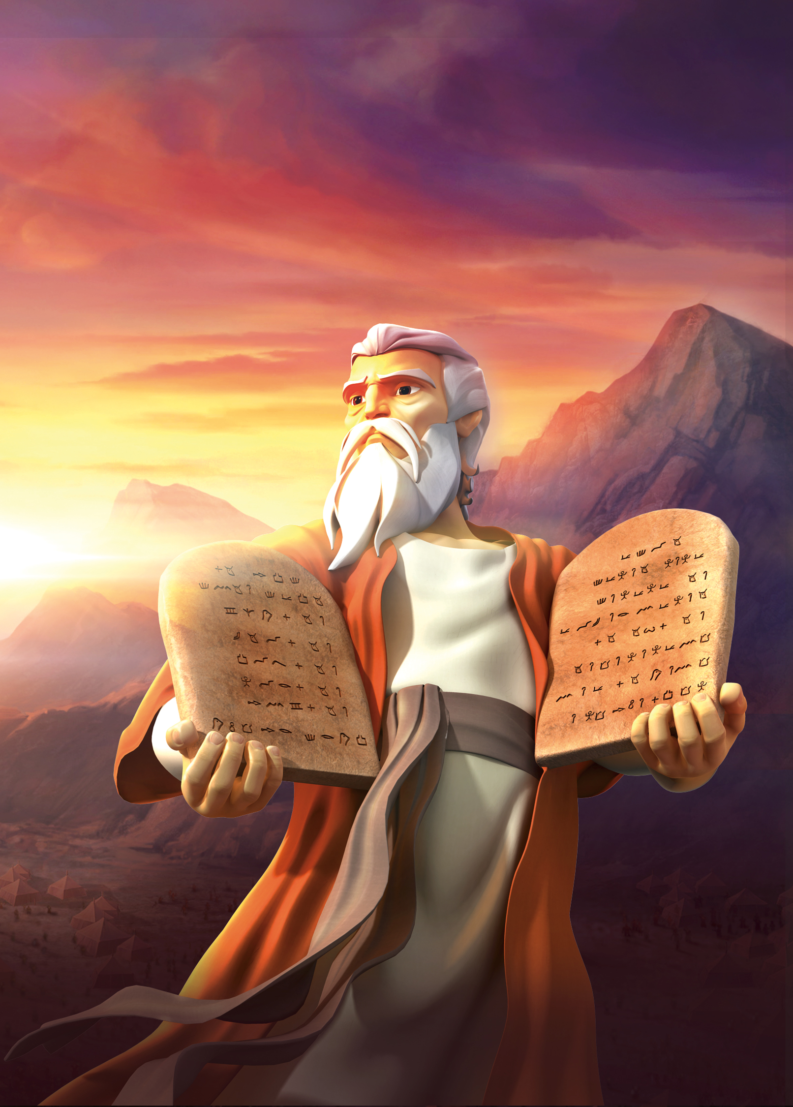 The Ten Commandments Superbook Academy