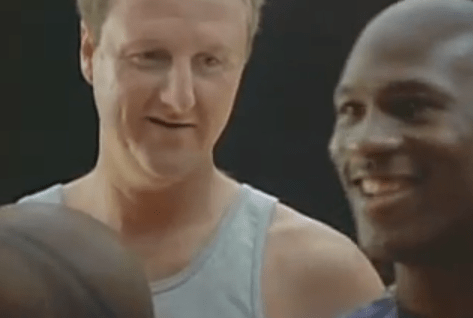 1993 MCDONALDS – Larry Bird And Michael Jordan